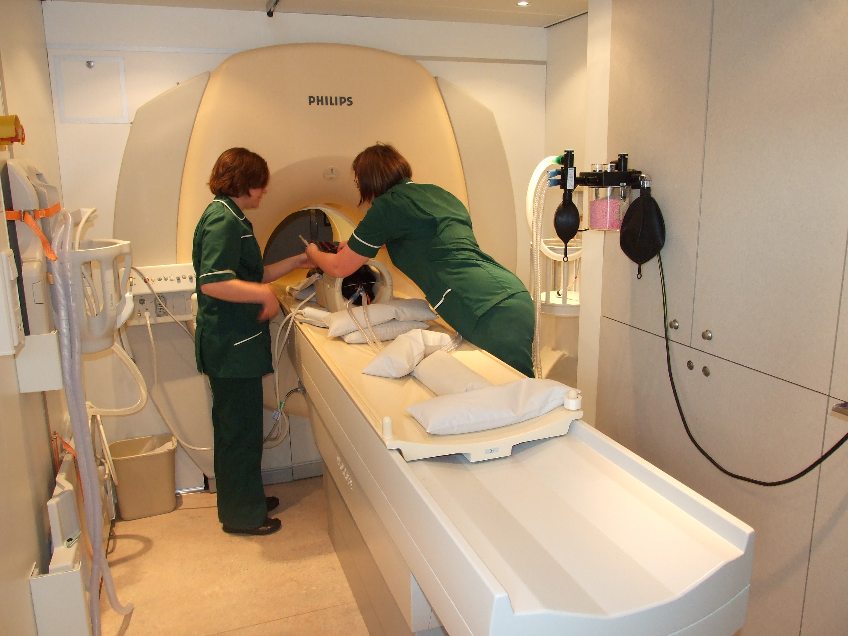 MRI scanning at Charter Vets in North Devon