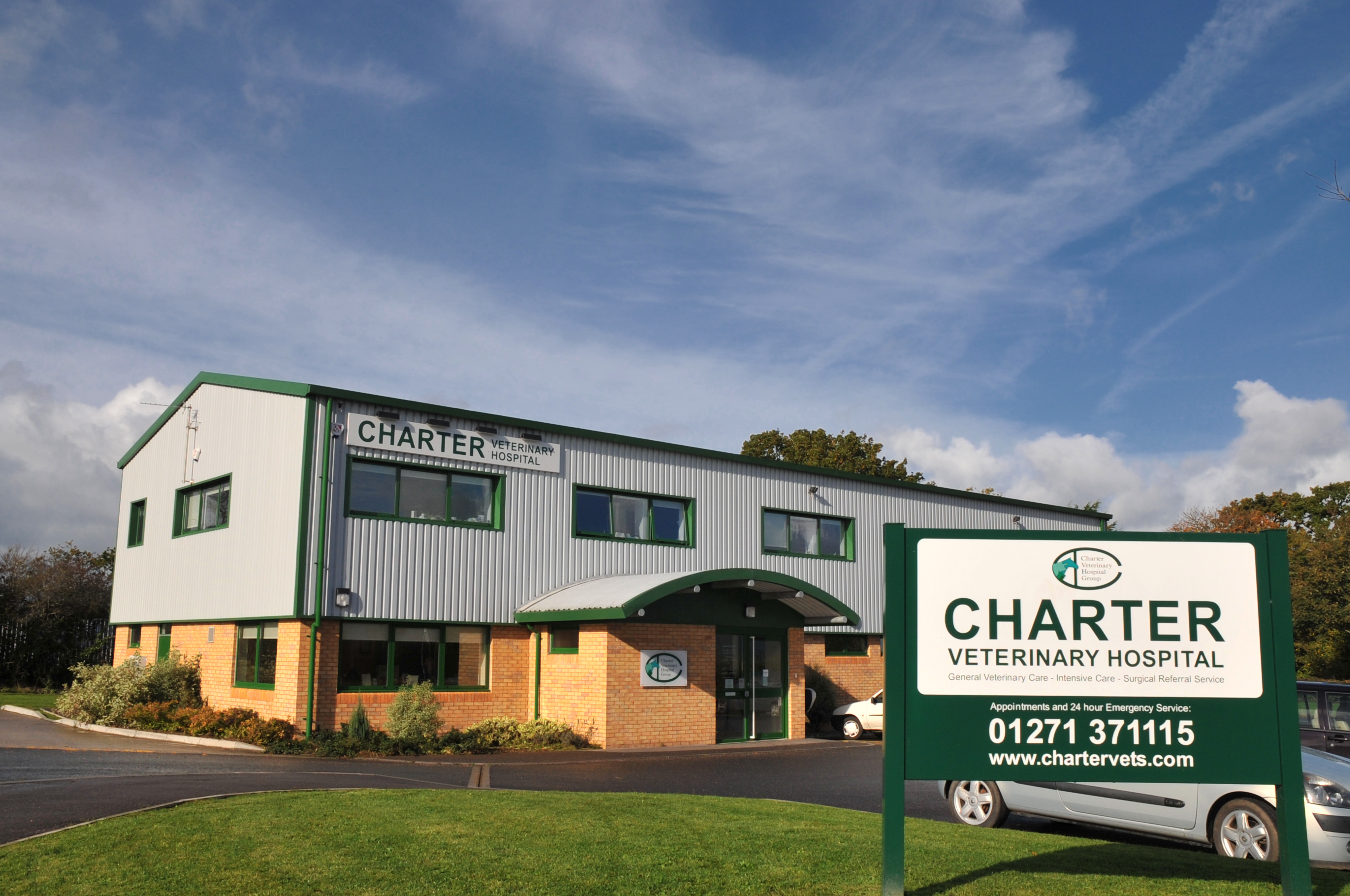 Referral level surgery and treatment at Charter Vets