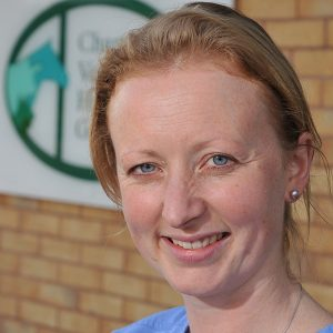 Charter Vets Harriet Jarvis with advice on adder bites